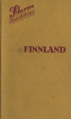 gerard mueller reichau storm reisef hrer finnland 1928. Black Bedroom Furniture Sets. Home Design Ideas